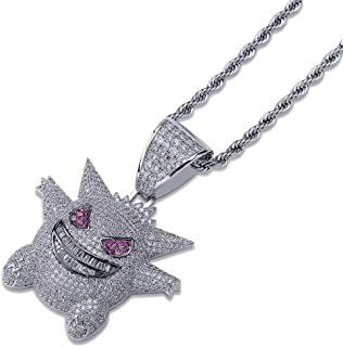 Best silver iced chain Reviews