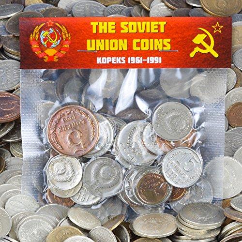 30 URSS SOVIETICA KOPEKS MONETE 1961-1991 GUERRA FREDDA FALCE E MARTELLO SOLDI RUSSI
