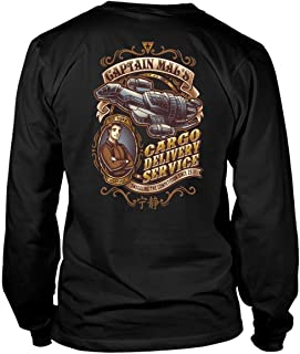 Captain Mal's Cargo Delivery Service T Shirt, You Can Be Nathan Fillion Firefly T Shirt - Long Sleeve Tees