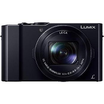 パナソニック コンパクトデジタルカメラ ルミックス LX9 1.0型センサー搭載 4K動画対応 ブラック DMC-LX9-K