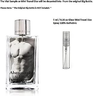 Abercrombie Fitch Fierce Cologne 5 ml 0.16 oz Glass Mini Travel Size Spray