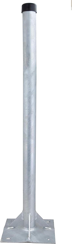 Satix Satélite Stand 4,8 x 100 cm galvanizado para antena parabolica