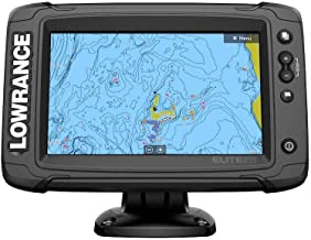 Lowrance Elite-7 Ti2 Fishfinder/Chartplotter Combo with Active Imaging 3-in-1 Transom Mount Transducer & US Inland Chart