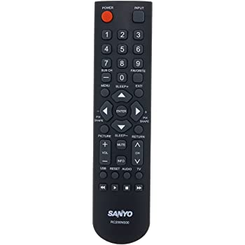 Amazon Com Factory Original Sanyo Rc200ns00 Lcd Led Hd Tv Remote Control For Sanyo Hdtv Television 8tl06 530w37 8tl06530w37 Home Audio Theater