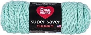 RED HEART Super Saver Chunky, Minty Yarn