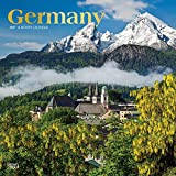 Germany 2021 12 x 12 Inch Monthly Square Wall Calendar with Foil Stamped Cover, Scenic Travel Europe German (English, Spanish and French Edition)