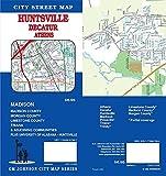 Huntsville / Decatur / Athens, Alabama Street Map