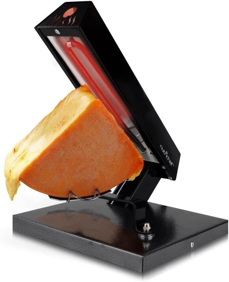 NutriChef Raclette Grill Melter Ranking TOP7 Electric Warmer Machine-Swiss St Ranking TOP15