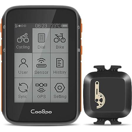 CooSpo Bike Computer GPS Bike Cadence Speed Sensor Bike ...