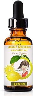 Lemon Essential Oils, 1 fl oz (30 ml) With Glass Dropper by Jadole Naturals