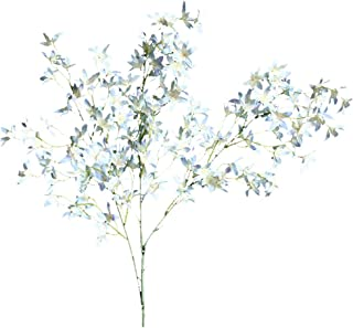 Fine Artificial Dancing Lady Orchid Silk Faux Flowers Fake Butterfly Orchids Real Touch for Wedding Home Office Party Hotel Decoration Restaurant Patio Festive Furnishing
