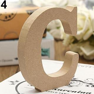 Ypypiaol – Letras decorativas de madera (26 letras) –