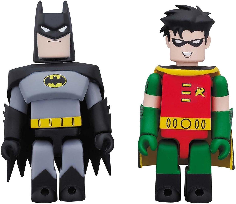 KUBRICK DC COMICS 75th ANNIVERSARY BATMAN & ROBIN [ANIMATED Ver.] 2 pack