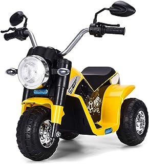 Costway Moto Electrique pour Enfants 6 V Moto Véhicule Electrique pour Enfant à partir de 3 à 5 Ans Capacité de Charge 20K...