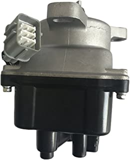 PARTS-DIYER Ignition Distributor w/Cap & Rotor TD-74U TD74U for 6082903 TC08A Hollander 606-58920 30100-P6T-T01 30100P6TT01