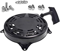 FanzKo Recoil Pull Starter 497680,Rewind Starter/w Nuts and Bolts for Briggs Stratton Toro Lawn boy MTD Snapper Lawn Mower