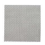 Herme - 20 almohadillas de malla de acero inoxidable para acuario, acuario, acuario, pecera, decoración de red