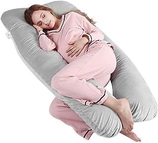 "MoMA Pregnancy Pillow - 55""x31""Size U-Shaped Maternity Pillow - Full Body Cover Pillow - Hugging Nursing Pillow - Side Body Support Pillow - Fully Body U-Shaped Maternity Pillow for Pregnant Women"