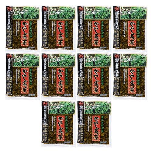 佐藤食品 からし高菜 150g×10袋