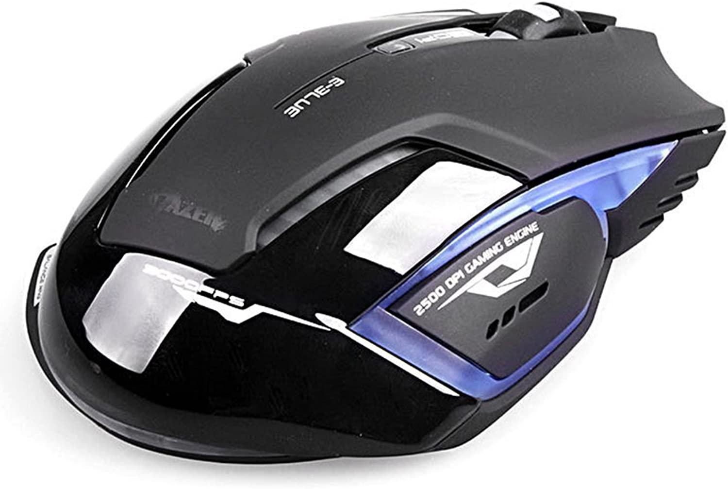 Heng Heng  E3lue 6D Mazer II 2.4GHz Wireless Game Gaming Mouse 2500DPI blueee LED  HNGBG000130