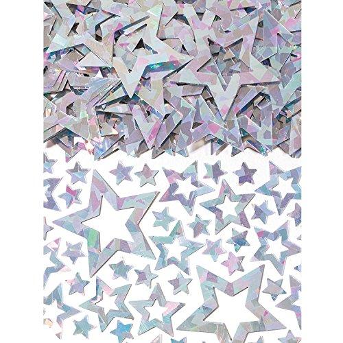 amscan 9900498 Confettis étoile Hologramme 14 g