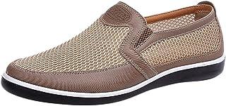 Oyedens_Scarpe da uomo Eleganti Mocassini Scarpe da Ginnastica Sportive Outdoor Sneakers Scarpe Uomo Sportive Sneaker Tras...