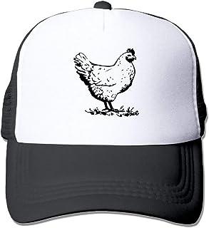 Adjustable Mesh Cap Chicken-1 Two Tone Trucker Hat JTRVW Cowboy Hats