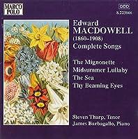 Macdowell:Complete Songs