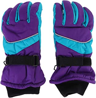 VICASKY 1 peça de luvas grossas quentes para atividades ao ar livre, luvas esportivas infantis à prova de vento, luvas à p...