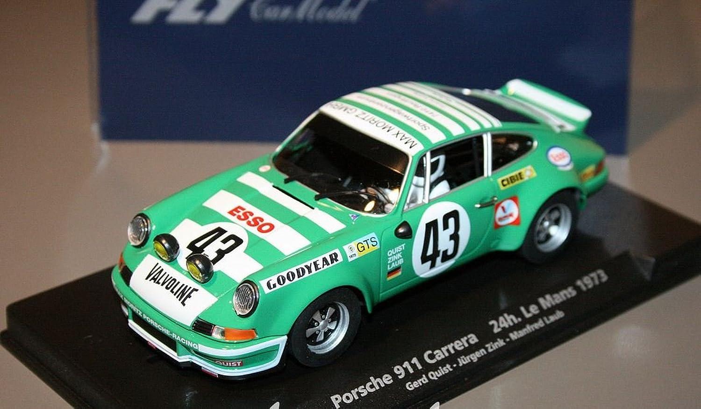solo cómpralo Fly - Scalextric slot 88184 porsche porsche porsche 911 Cocherera rsr 24h le mans 1973  ¡no ser extrañado!