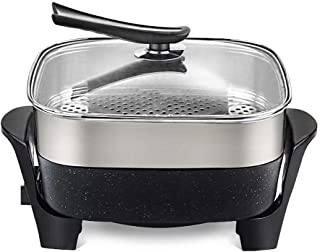Barbecue Pot Electric Barbecue Stove Electric Baking Pan Household Hot Pot Barbecue Integrated Pot Non-Stick Pan Whole Body Washing