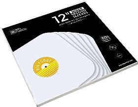 Big Fudge Vinyl Record Inner Sleeves 50x | Made from Heavyweight & Acid Free Paper |..
