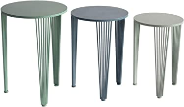 """Crestview Collection CVFZR5088 24.25"""" Nested Table Furniture"""