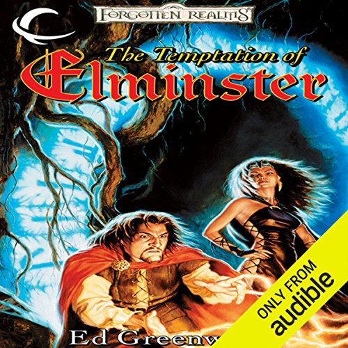 The Temptation of Elminster     Forgotten Realms: Elminster, Book 3              Written by:                                                                                                                                 Ed Greenwood                               Narrated by:                                                                                                                                 John Pruden                      Length: 13 hrs and 39 mins     3 ratings     Overall 5.0