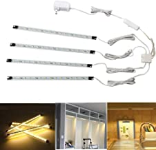 Under Cabinet Lighting - Cefrank Bookshelf Light Bar - UL-listed - Low Profile - Energy Saving - Cool to Touch - Soft Warm White