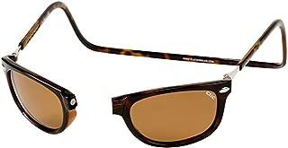 Clic Sunglasses - Ashbury Magnetic Tortoise / Frame: Tortoise Lens: Brown Polarized-CLICASHTRT