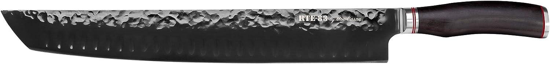 Route83 by Moe Cason XXL 14  Carving Brisket Knife Ebony Wood Handle