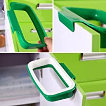 KITCHEN HANGING STORAGE RUBBISH TRASH CARRIER WASTE BIN BAG HOLDER SMALL SPACES by Guaranteed4Less