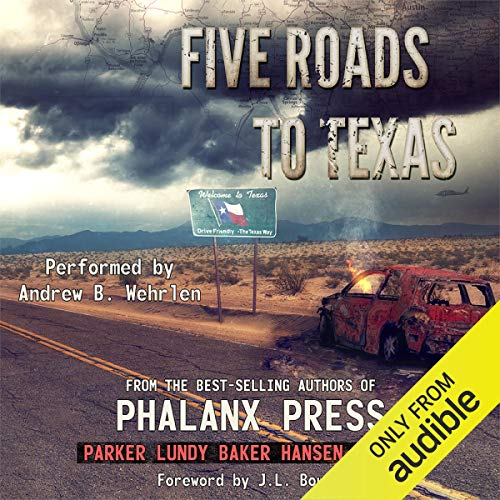 Page de couverture de Five Roads to Texas