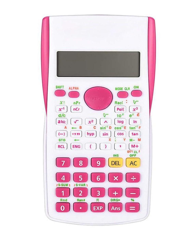 上に築きますカーフ食料品店電卓 学生 サイエンス計算機 12ビット 大画面表示 学生計算 関数計算