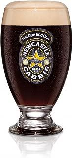 Newcastle Cabbie Black Ale Geordie Schooner Signature Glass | Set of 2 Glasses