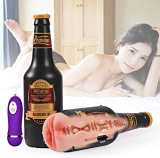 Electric Beer Bottle Special Edition Pu'sy*s Relax Deluxe for Men Pleasure Silky Soft Odorless
