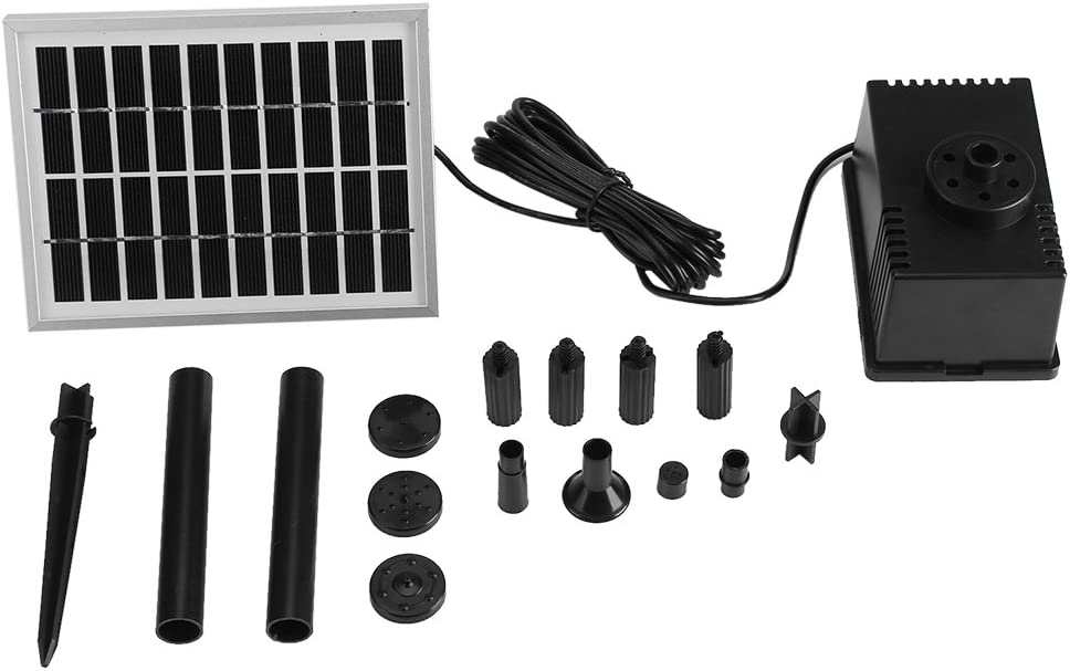 100% quality warranty! Yuehuam Solar List price Fountain Pump 1.8W Brushless 9V Water C