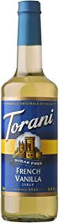 Torani Sugar Free French Vanilla Syrup, 25.35 Oz