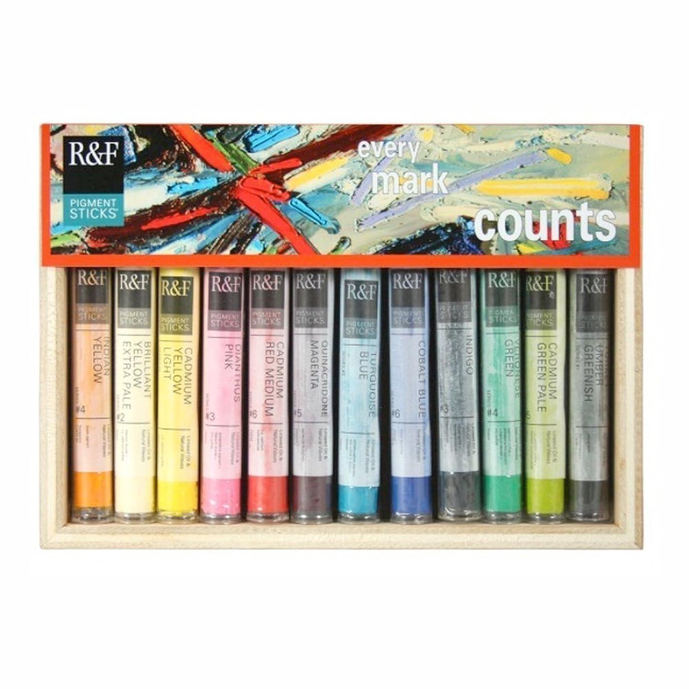 R&F Handmade Paints Painters Dozen, Set of 12