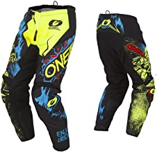 O'Neal Unisex-Child Element Youth Villian Pant Yellow 8/10