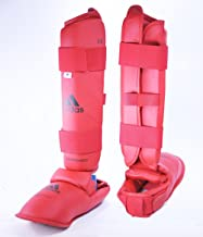 adidas WKF Shin and Instep Red