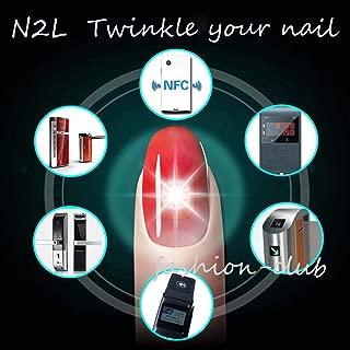 FidgetKute New Wearable Smart Nail Sticker Simulate IC Card N2L/N2M/N2F NFC Smart Nail Art N2L One Size