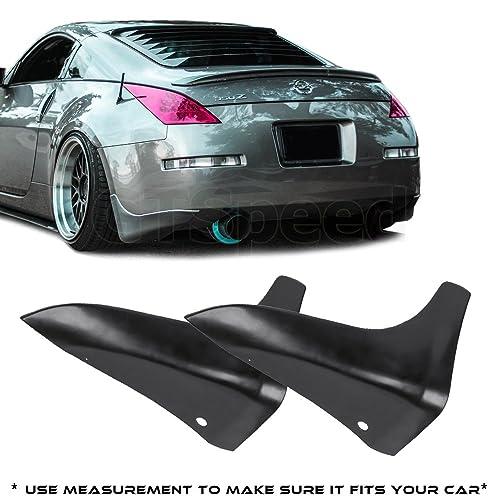 GTSpeed Made for 03-09 Nissan 350Z Fairlady Z Z33 JDM Rear PU Bumper Lip