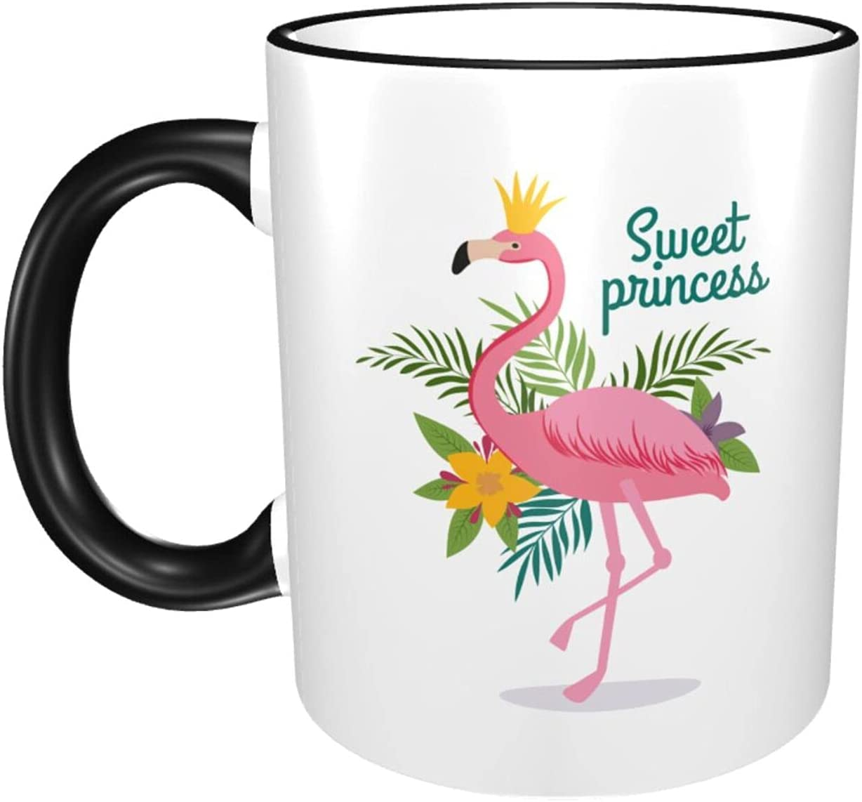 Flamingo 11oz Large Coffee Mugs Cheap Sale SALE% OFF super special price Print Cup Exqui Ceramics Classic